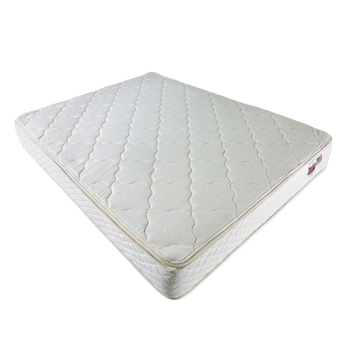 Clivia White Twin Mattress image