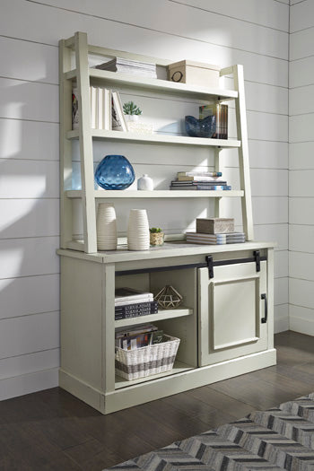 Jonileene Signature Design by Ashley Home Office Tall Desk Hutch image