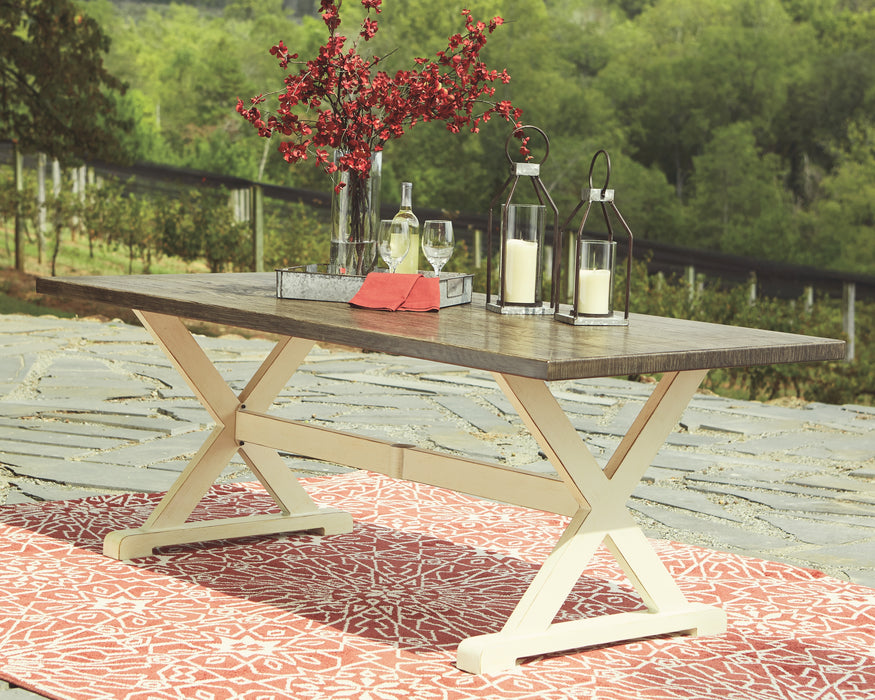 Preston Bay Signature Design by Ashley Outdoor Dining Table image