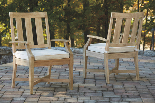 Clare View Signature Design by Ashley Outdoor Dining Chair Set of 2 image