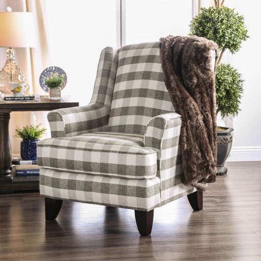 Christine Light Gray Chair image