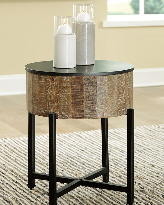 Nashbryn Signature Design by Ashley End Table image