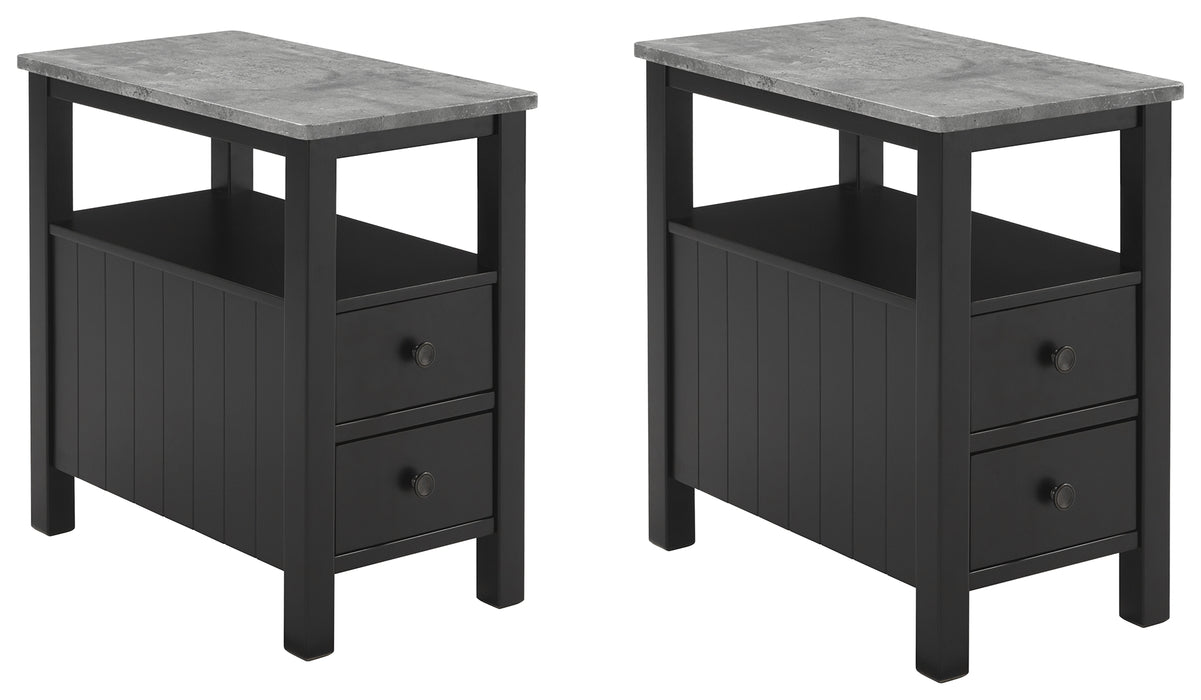 Ezmonei Signature Design 2-Piece End Table Set image