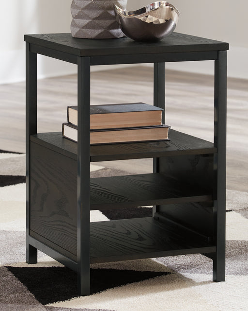Airdon Signature Design by Ashley End Table Chair Side image