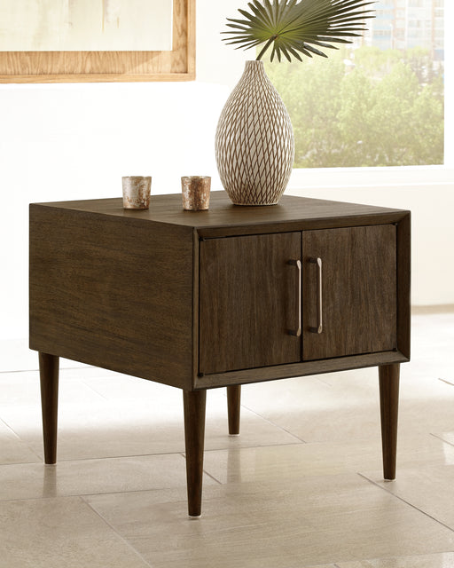 Kisper Signature Design by Ashley End Table image