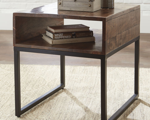 Hirvanton Signature Design by Ashley End Table image
