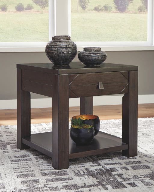 Tariland Signature Design by Ashley Square End Table image