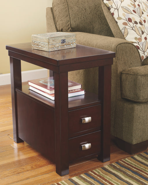 Hatsuko Signature Design by Ashley End Table Chair Side image