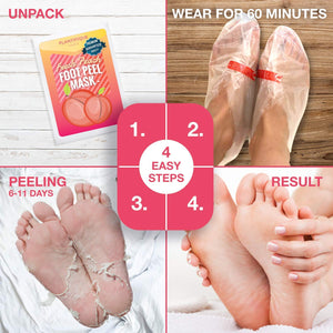 Lavender Exfoliating Foot Mask (3 Packs)