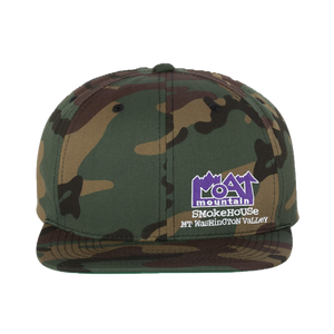 Embroidered Camo Hat