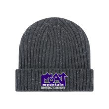 Load image into Gallery viewer, Unisex Embroidered Gray Beanie