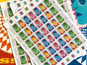 Sheet of Stamps: RBG