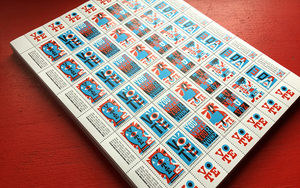 Sheet of Stamps: VOTE