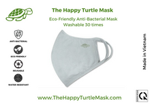 Load image into Gallery viewer, The Happy Turtle Mask Grey (Pack of 2)