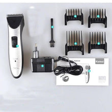 Load image into Gallery viewer, Kemei km-3909 Professional Trimmer for men, Cordless