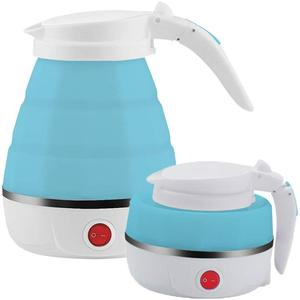 ELECTRIC FOLDABLE KETTLE, FOOD GRADE SILICONE FOLDING KETTLE