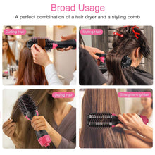 Load image into Gallery viewer, Hair Dryer, Straightener ,Curler and Volumizer Brush (All IN 1 )