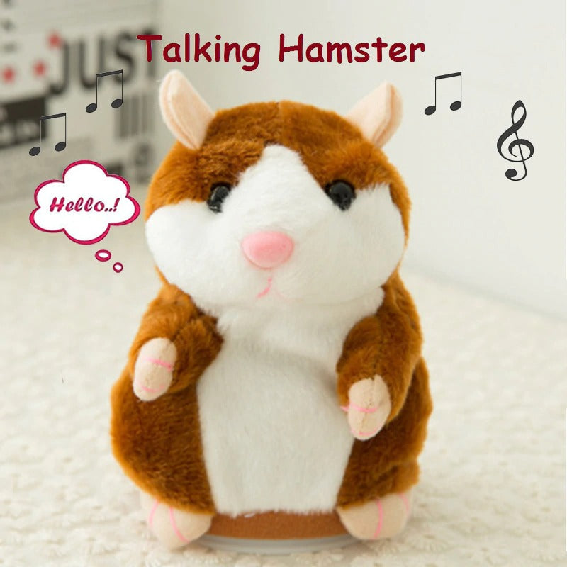 COPY TALKING HAMSTER TOY