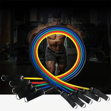 Load image into Gallery viewer, Fixfeels Premium Resistance Band 11 Pcs set -Ultimate  Heavy workout