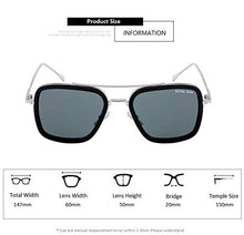 Load image into Gallery viewer, New Stylish Avengers Sunglasses L3000-silver-grey