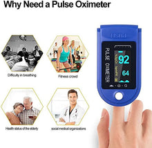 Load image into Gallery viewer, Finger Pulse Oximeter With OLED Display