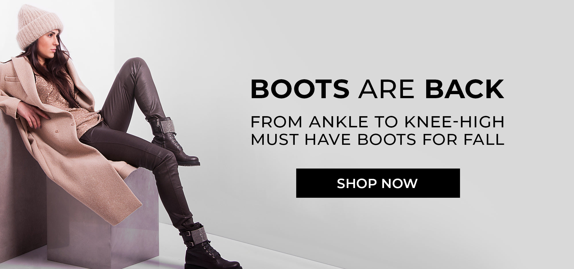 Boots are back