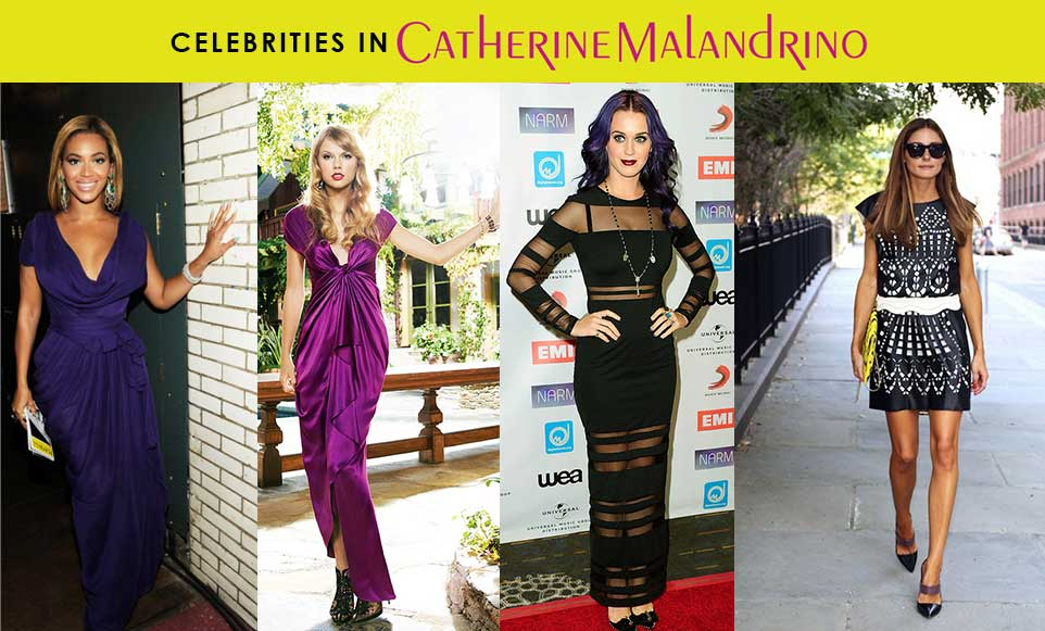Celebrities in Catherine Malandrino