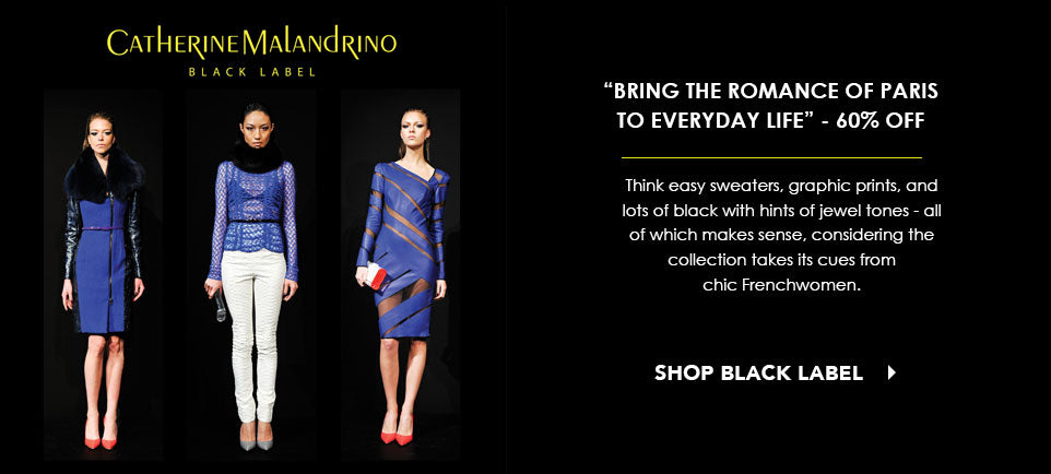 Catherine Malandrino Black Label
