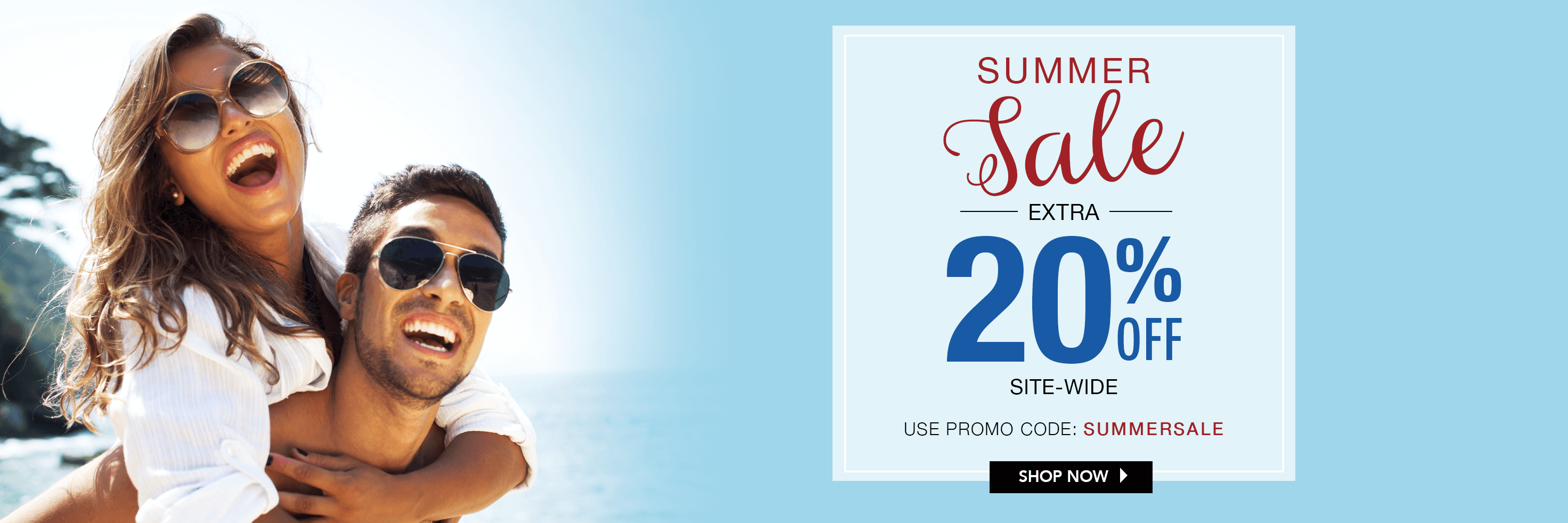 Use PROMO CODE: SUMMER SALE for an extra 20% OFF!