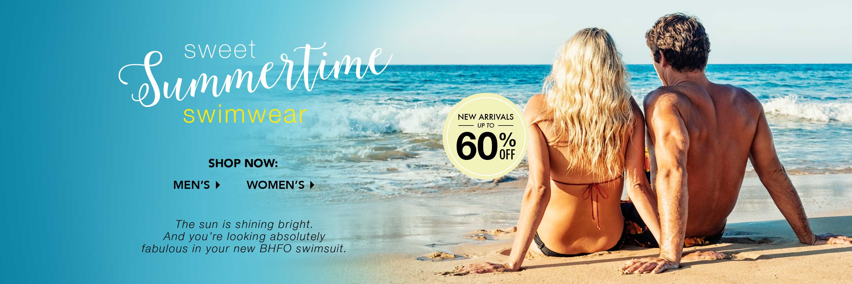Sweet Summertime Swimwear - Up to 20% off!