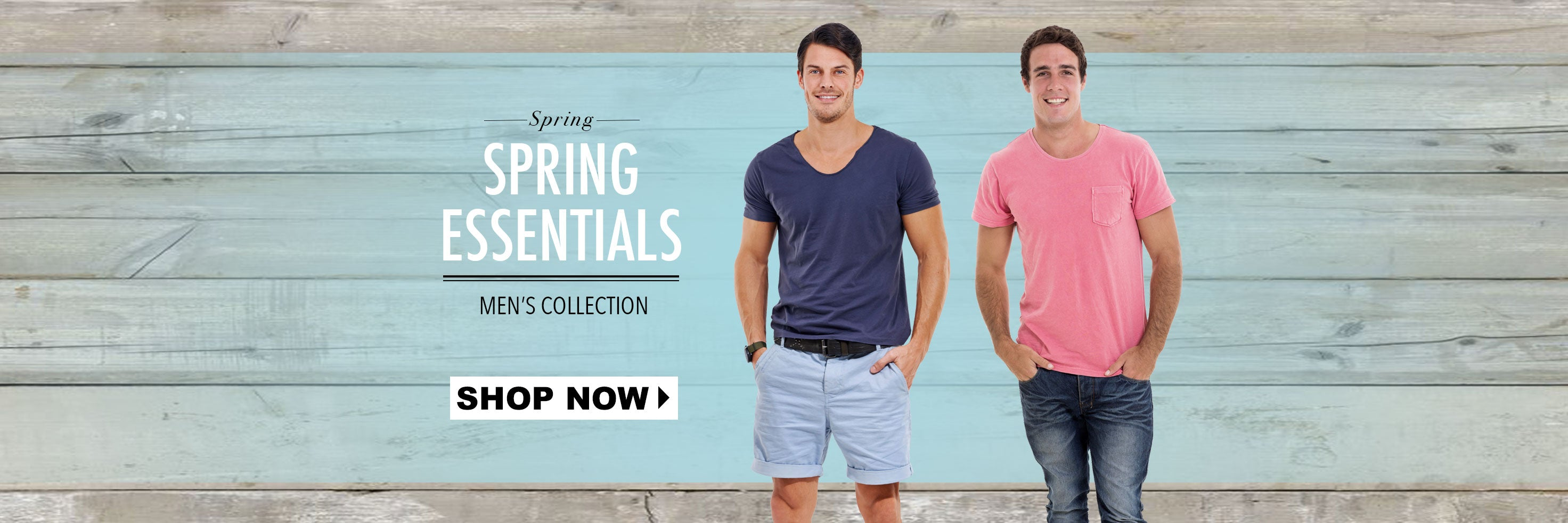 Spring Essentials - Men's Collection