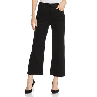 J Brand Womens Corduroy Wide Leg Straight Leg Pants