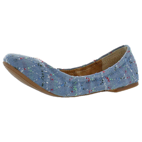 Lucky Brand Emmie Women's Slip On Round Toe Ballet Flats Shoes