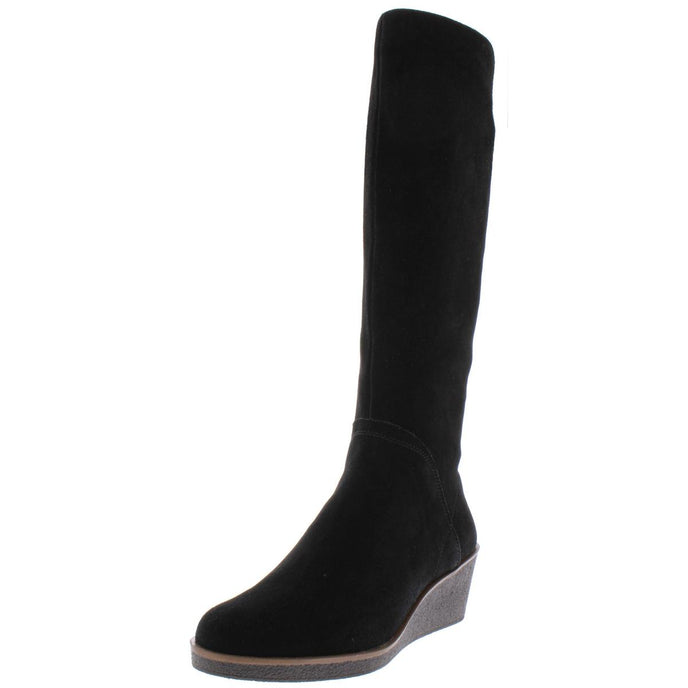 Aerosoles Womens Binocular Suede Cold-Weather Knee-High Boots