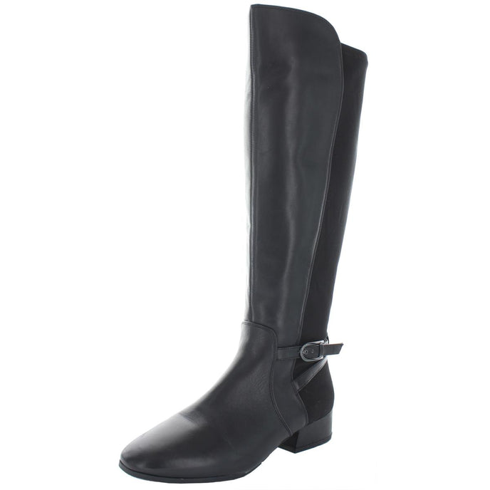 Easy Spirit Debut Women's Leather Block Heel Tall Riding Boot