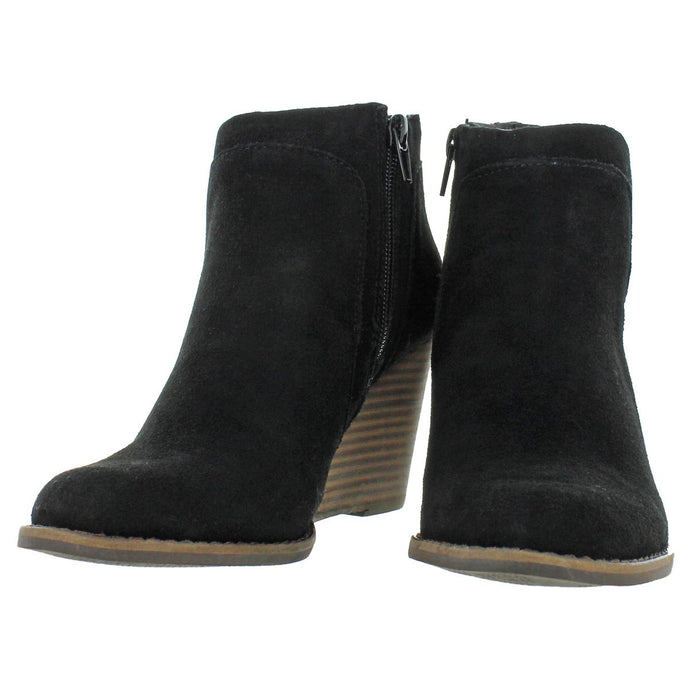 Black Oiled Suede