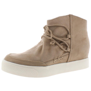Very G Women's Ursula Faux Suede Wedge Sneaker