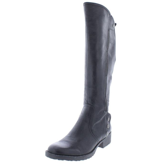Baretraps Womens Oria Padded Insole Knee-High Riding Boots