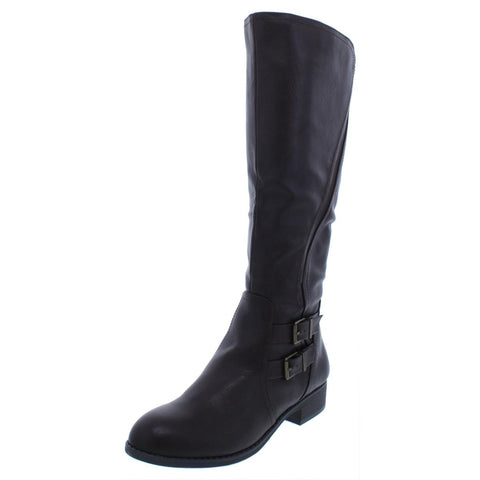 Style & Co. Womens Milah Tall Boots Casual Mid-Calf Boots