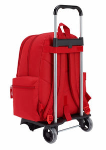BACKPACK 662 + TROLLEY 905 SFC RED