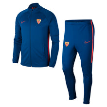Load image in gallery viewer, SEVILLA FC BLUE TRACKSUIT 20/21 CHILD