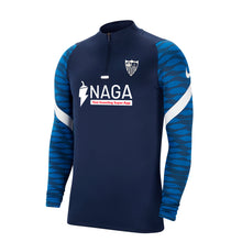 Load image in gallery viewer, SEVILLA FC BLUE TECHNICAL TRAINING SWEATSHIRT 21/22 ADULT