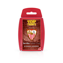 Load image in gallery viewer, TOP TRUMPS SEVILLA FC