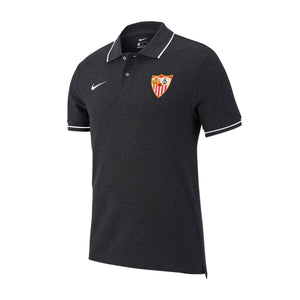 SEVILLA FC 20/21 KIDS GRAY WALK POLO SHIRT