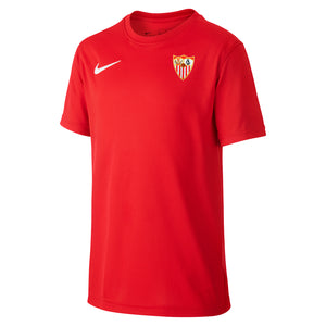 SEVILLA FC RED QUARRY T-SHIRT 20/21 KIDS
