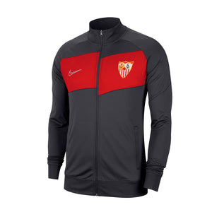 SEVILLA FC 20/21 KIDS RED / GRAY HYMN SWEATSHIRT