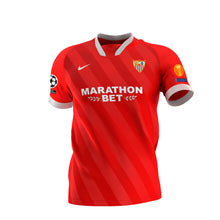 Load image in gallery viewer, SEVILLA FC 2nd CHAMPIONS T-SHIRT 20/21 ADULT
