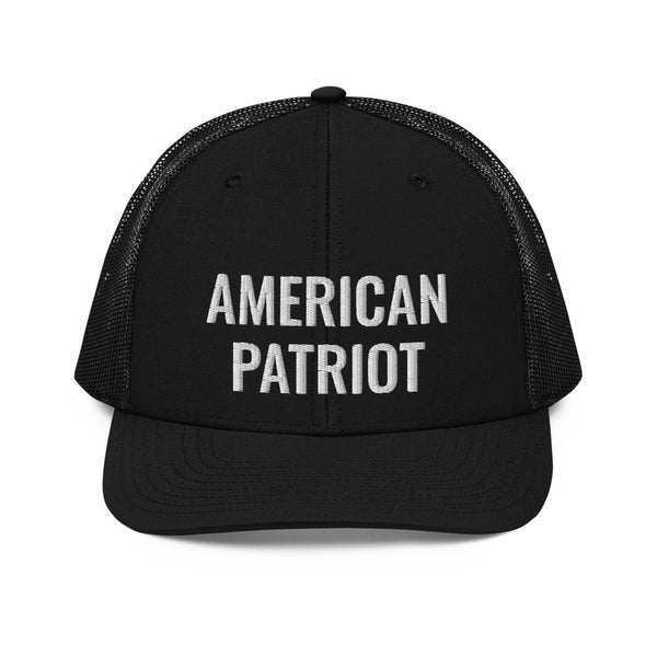 American Patriot Trucker Cap