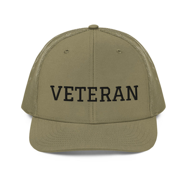 Veteran Trucker Cap