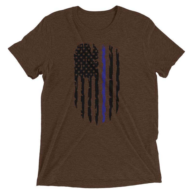 Blue Line Flag Unisex T-Shirt